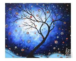 Blue Cascade' par Megan Aroon Duncanson | Art, Winter art lesson, Winter  art projects